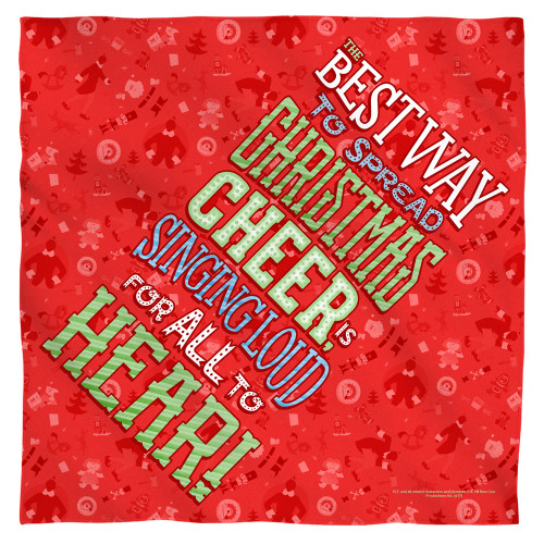 Image for Elf Face Bandana -Xmas Cheer