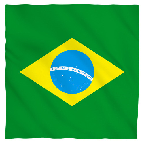 Image for Brazil Flag Face Bandana -