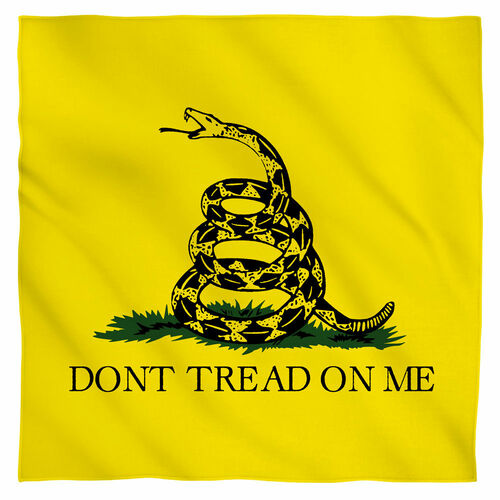 Image for Dont Tread Flag Face Bandana -