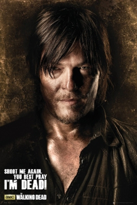 Image for The Walking Dead Poster - Shoot Me Again