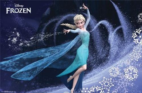Image for Frozen Poster - Elsa Casting Spell