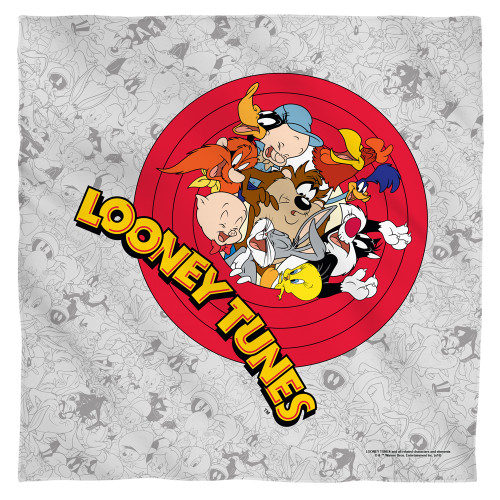 Image for Looney Tunes Face Bandana -Group Burst