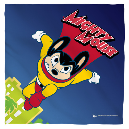 Image for Mighty Mouse Face Bandana -City Watch