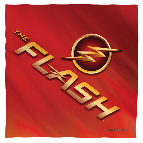 Image for The Flash Face Bandana -Tv Logo