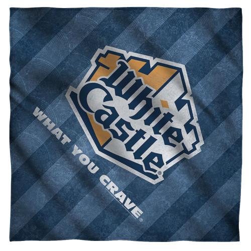 Image for White Castle Face Bandana -Logo