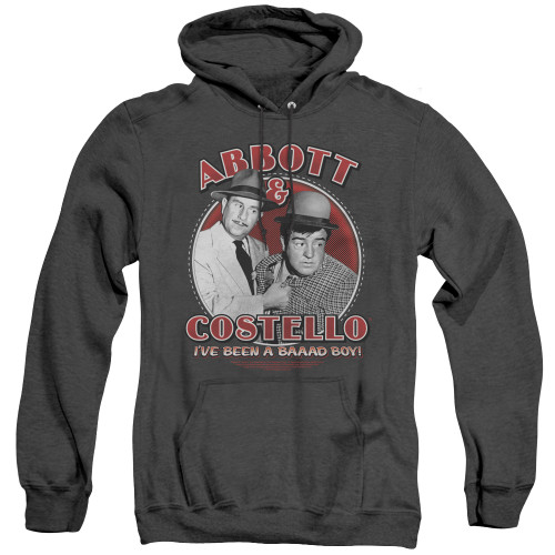 Image for Abbot & Costello Heather Hoodie - Bad Boy