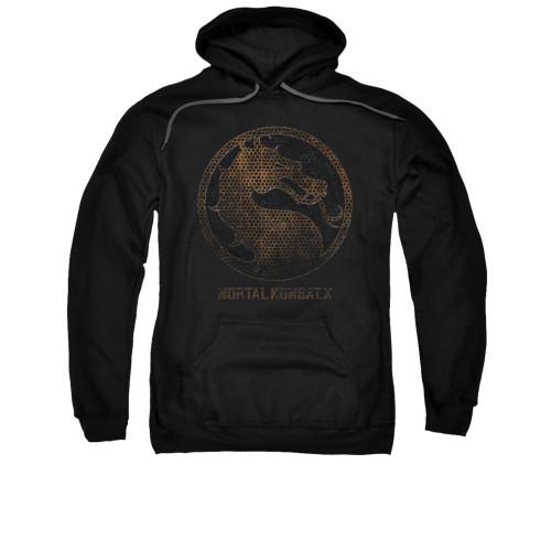 Image for Mortal Kombat X Hoodie - Metal Seal