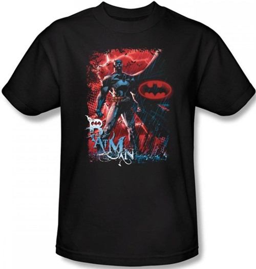 Image Closeup for Batman T-Shirt - Gotham Reign