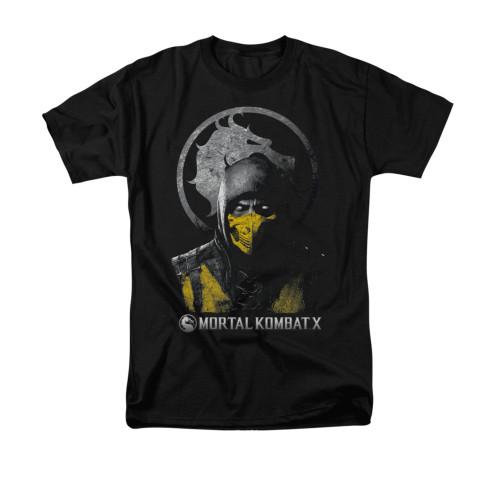Image for Mortal Kombat X T-Shirt - Scorpion Bust