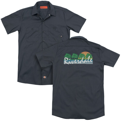 Image for Archie Comics Dickies Work Shirt - Riverdale Vintage Tourist Tee