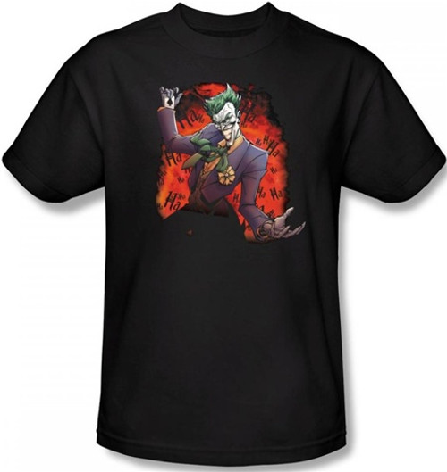 Image Closeup for Batman T-Shirt - Joker's Ace