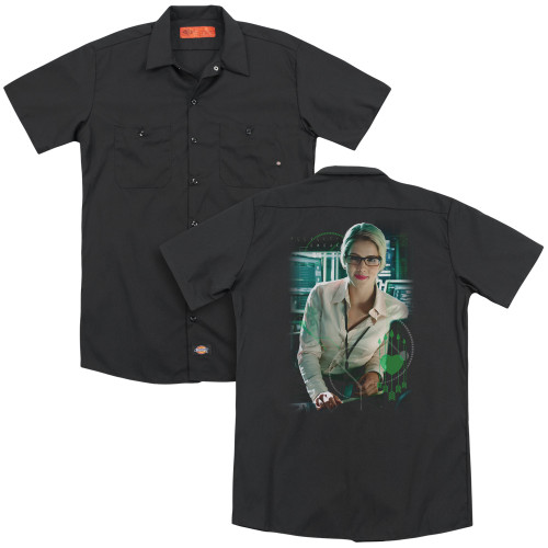 Image for Arrow Dickies Work Shirt - Felicity Smoak