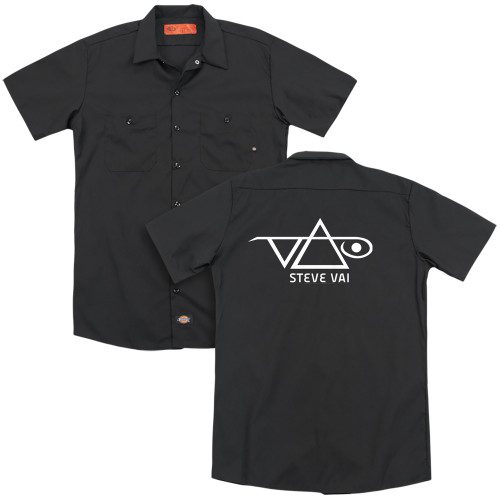 Image for Steve Vai Dickies Work Shirt - Logo