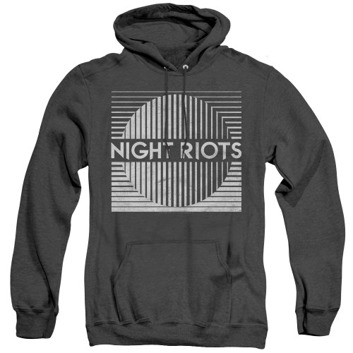 Image for Night Riots Heather Hoodie - Title