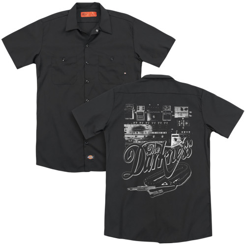 Image for The Darkness Dickies Work Shirt - Pedal Board