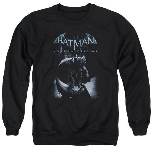 Image for Batman Arkham Origins Crewneck - Perched Cat