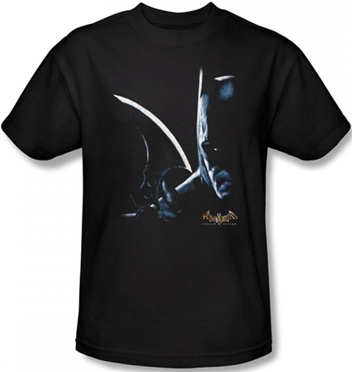 Image Closeup for Batman T-Shirt - Arkham Asylum Arkham Batman