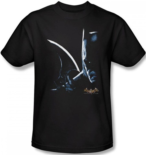 Image Closeup for Batman T-Shirt - Arkham Asylum Arkham Batman