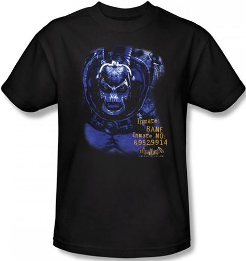 Image Closeup for Batman T-Shirt - Arkham Asylum Arkham Bane