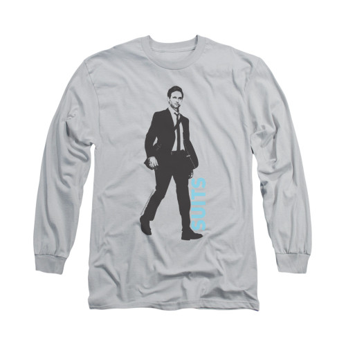 Image for Suits Long Sleeve T-Shirt - Walking