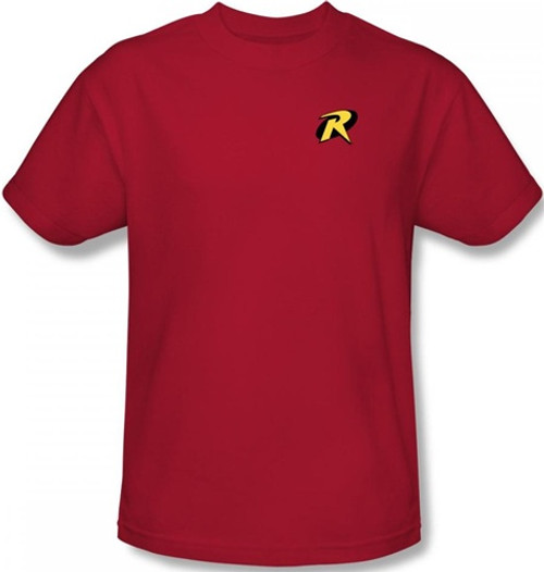 Image Closeup for Robin T-Shirt - Logo