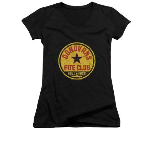 Image for Ray Donovan Girls V Neck T-Shirt - Fite Club