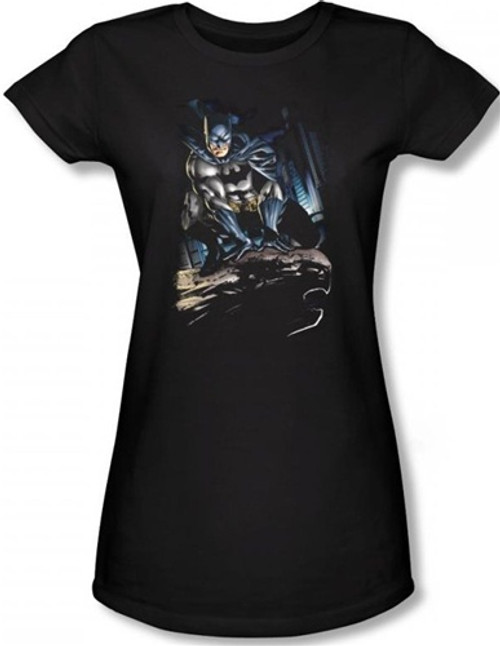 Image for Batman Girls T-Shirt - Perched