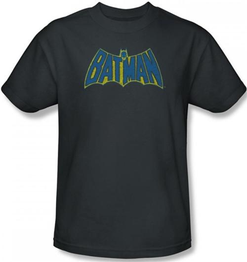 Image Closeup for Batman T-Shirt - Sketch Logo