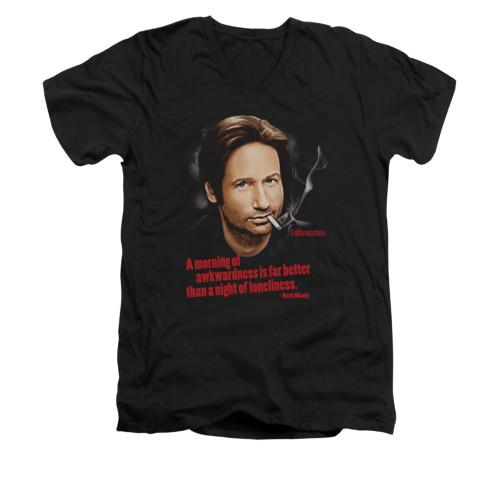 Image for Californication V-Neck T-Shirt - Morning Night