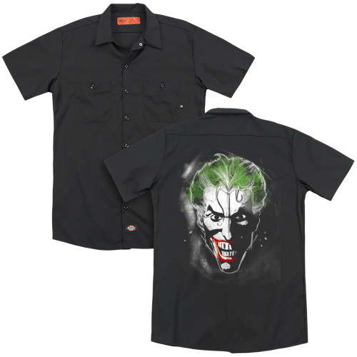 Image for Batman Dickies Work Shirt - Face Of Madness