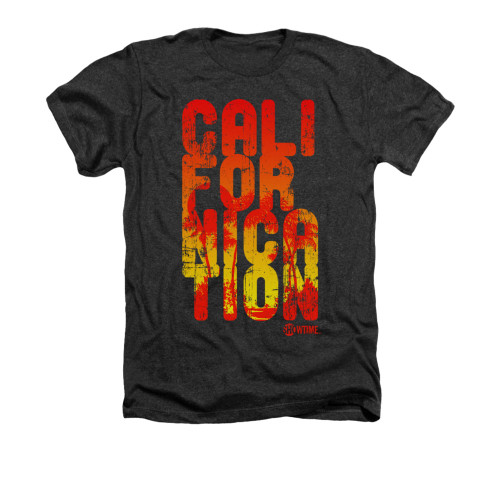 Image for Californication Heather t-shirt - Cali Type