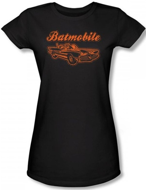 Image for Batman Girls T-Shirt - Batmobile