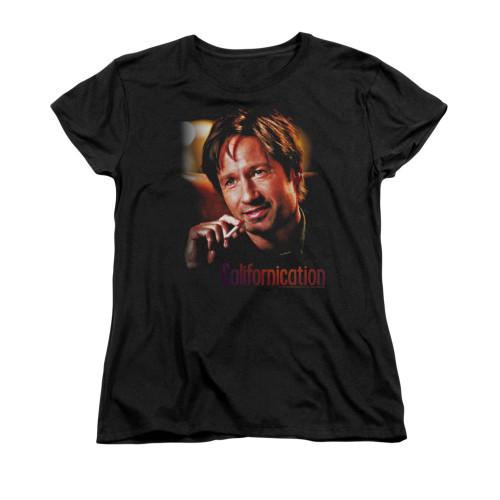 Image for Californication Woman's T-Shirt - Smoker