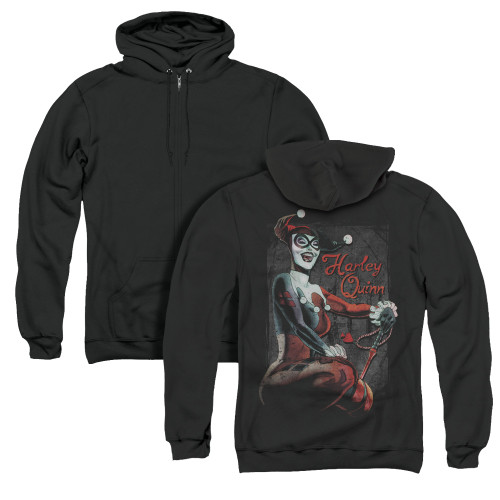 Image for Batman Zip Up Back Print Hoodie - Laugh It Up