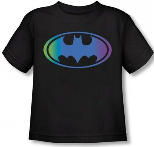 Image for Batman Gradient Bat Logo Toddler T-Shirt