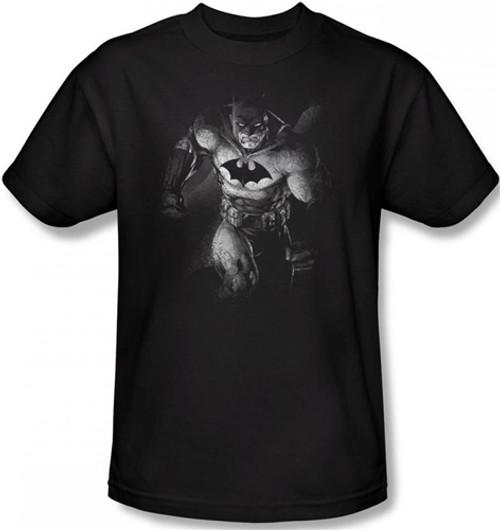 Image Closeup for Batman T-Shirt - Materialized