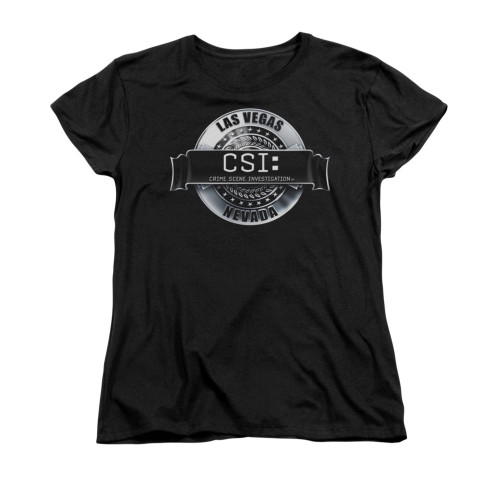 Image for CSI Woman's T-Shirt - Rendered Logo