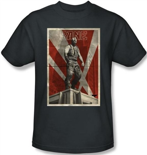 The Dark Knight Rises T-Shirt - Bane Rooftop Poster
