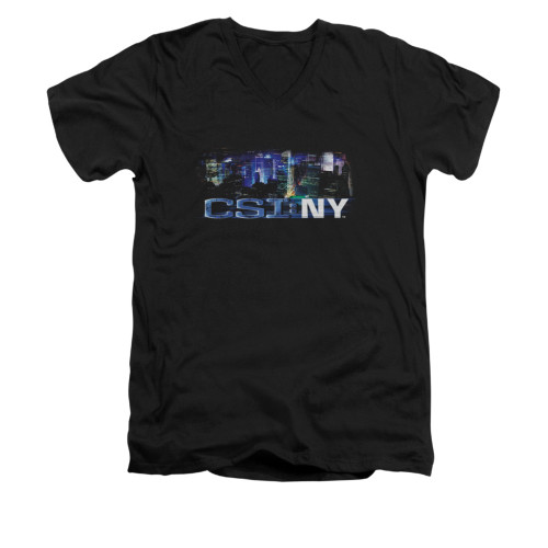 Image for CSI NY V-Neck T-Shirt - Never Rests