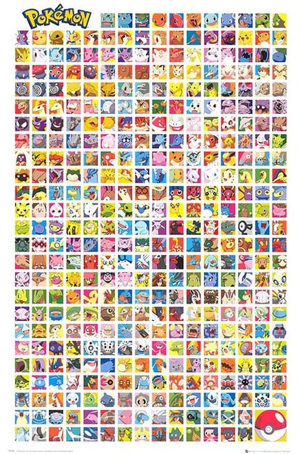 Image for Pokemon Poster - Chart