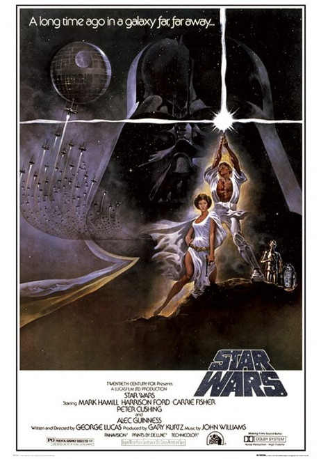 Image for Star Wars Poster - A long time ago in a galaxy far far away...
