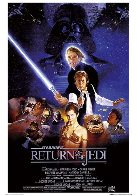 Image for Star Wars Return of the Jedi Poster