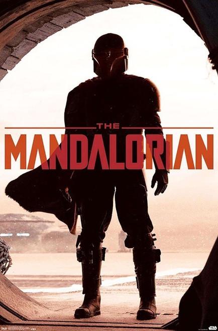 Image for Star Wars Mandalorian Poster - Doorway