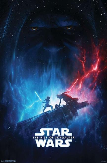 Image for Star Wars Rise of Skywalker Lightsaber Duel Poster