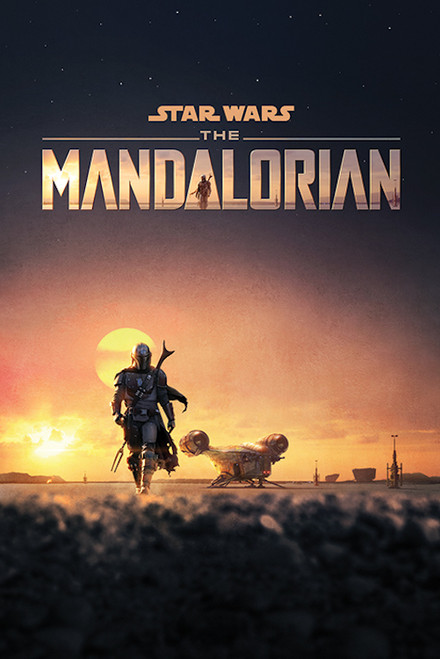 Image for Star Wars Mandalorian Poster - Dusk