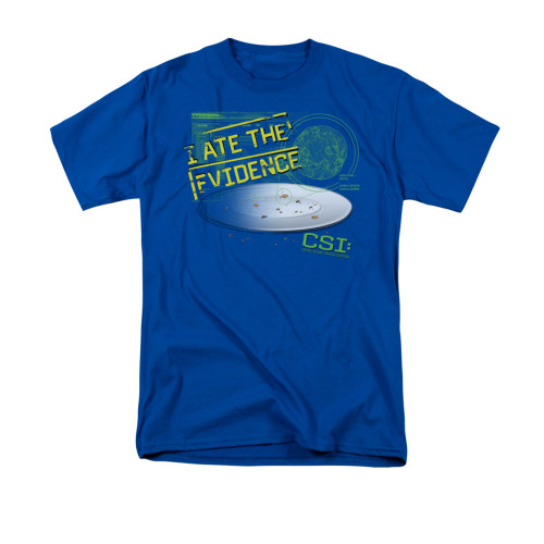 Image for CSI Miami T-Shirt - I Ate the Evidence