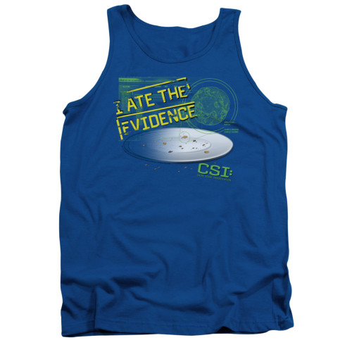 Image for CSI Miami Tank Top - I Ate the Evidence