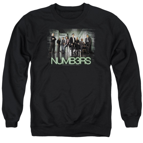 Image for Numb3rs Crewneck - Numbers Cast