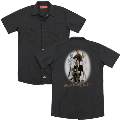 Image for The Beverly Hillbillies Dickies Work Shirt - Sophistimacated
