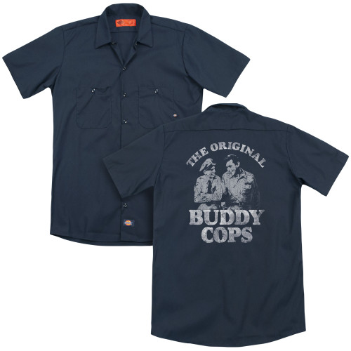 Image for Andy Griffith Show Dickies Work Shirt - Buddy Cops